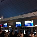 羽田空港 ガルーダインドネシア航空のチェックインカウンター