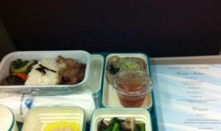 ガルーダインドネシアの機内食