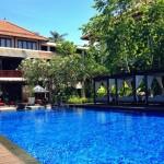 コンラッドバリのスイート宿泊者専用プール