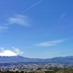 御殿場から富士山