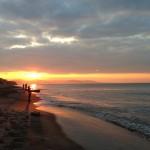 七里ガ浜の早朝