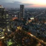 新宿都庁の夜景