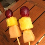コンラッドバリのフルーツのサテ