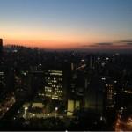文京シビックセンターの夜景