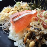 東京ビッグサイト 海鮮健康丼魚とと