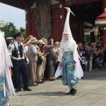 三社祭の白鷺の舞