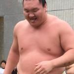 大相撲藤沢場所の白鵬