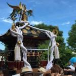 白旗神社の神幸祭