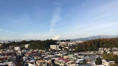 iphone7plusで富士山