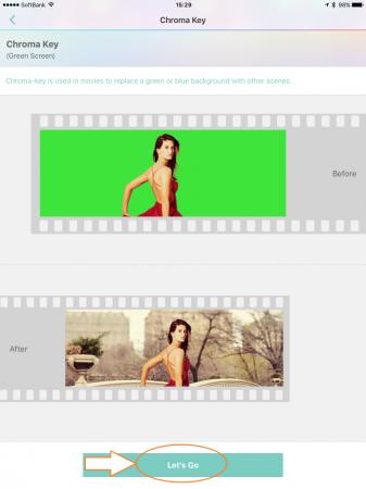 Video Toolboxでクロマキー合成