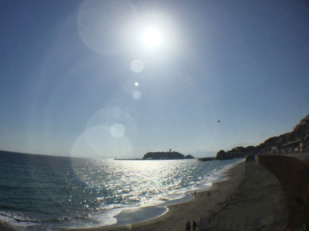 iPhone 6Plus/6sPlus用 4in1 ターレットレンズで撮った江の島