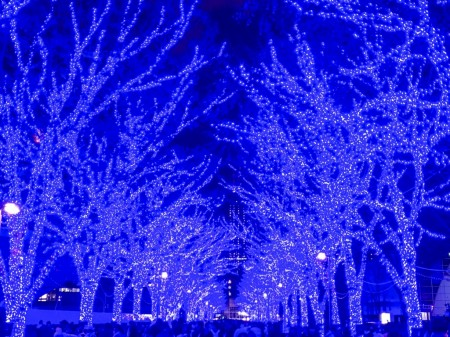 渋谷、青の洞窟