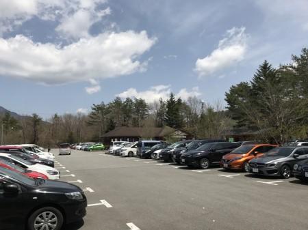 花の都公園駐車場