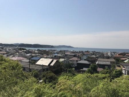長谷寺の展望台