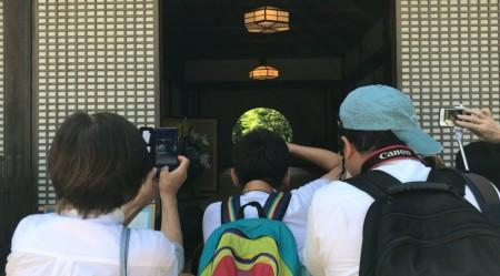 鎌倉 明月院の丸窓